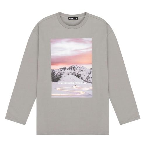 전사프린팅 싱글 티셔츠_HTF881