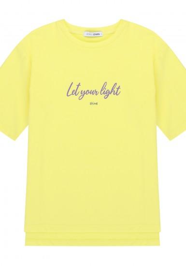 여성 레터링프린트 반팔 티셔츠_HTG451