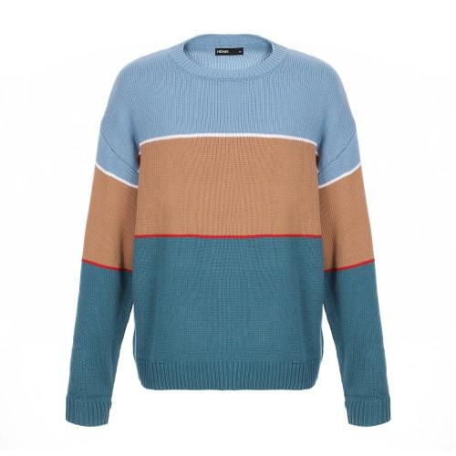 팝컬러 블럭배색 니트 스웨터_HWF884